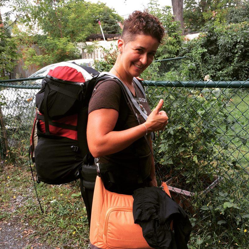 Jour du grand départ de Montréal vers Bali