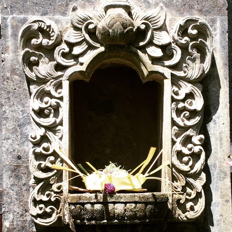 L'essence de Bali: ses offrandes
