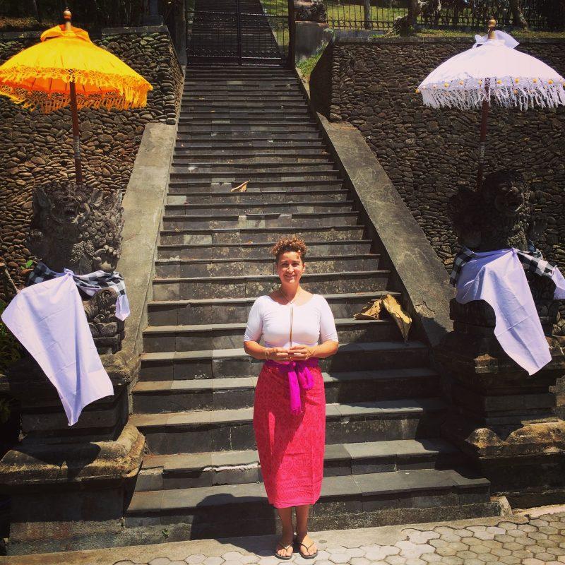 Au Temple Tirta Empul, Bali