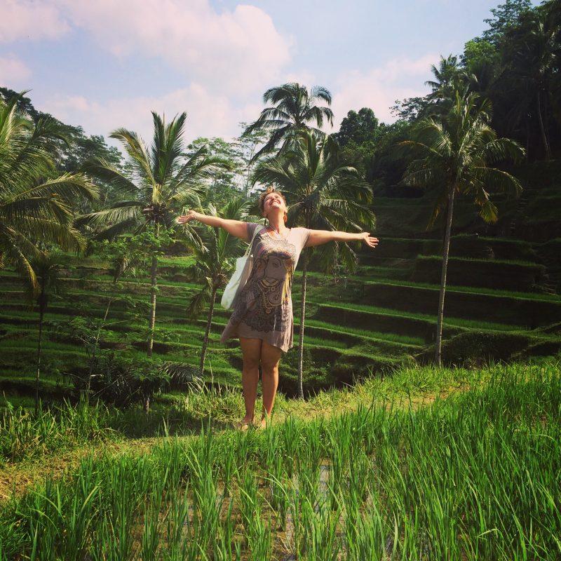 Terrasse de riz de Tegallalang, Bali
