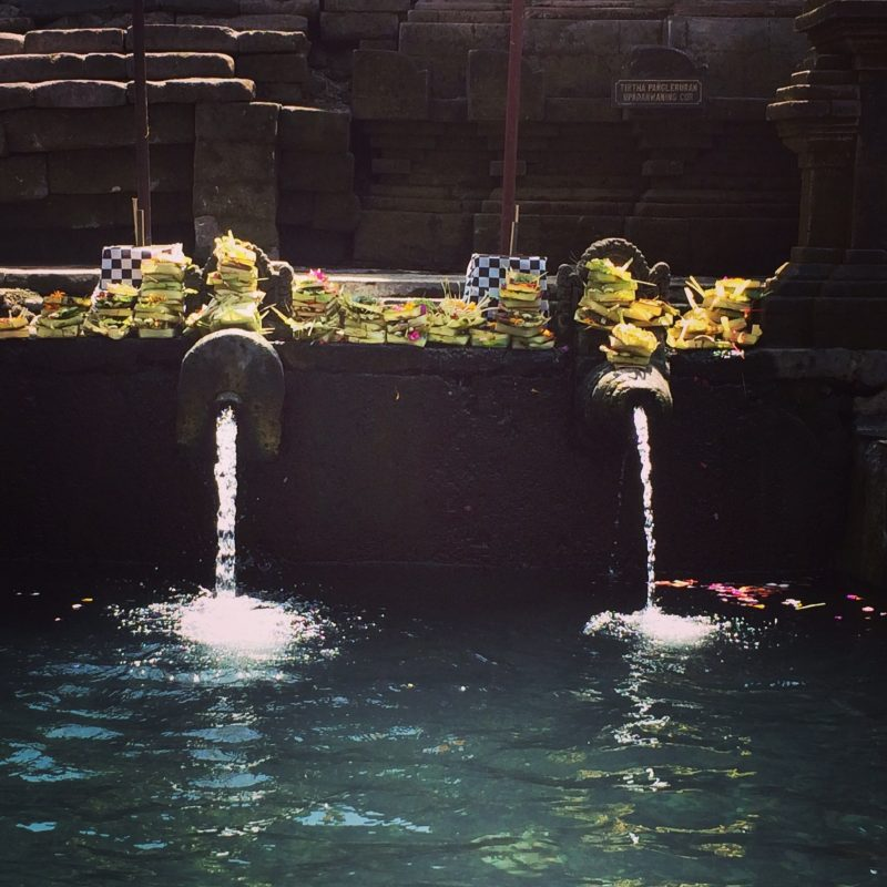 Eau sacrée du Temple Tirta Empul, Bali