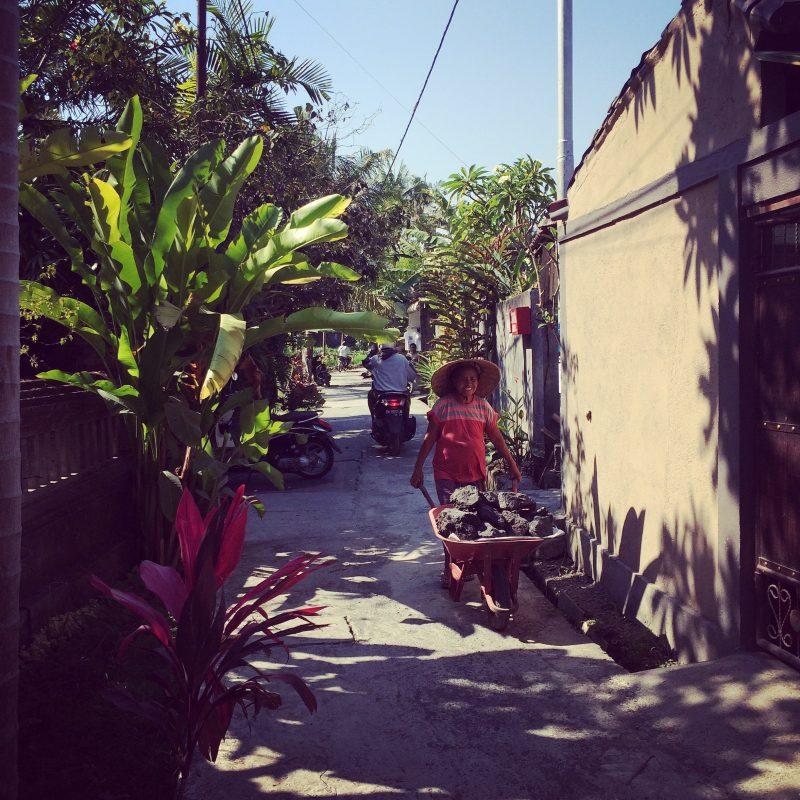 Coeur du village de Penestanan, Bali
