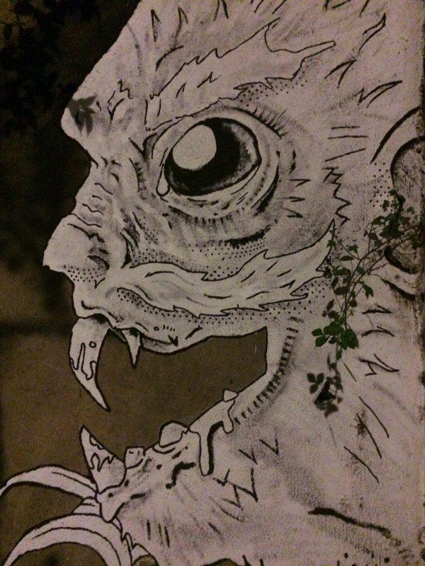 Scary grafiti