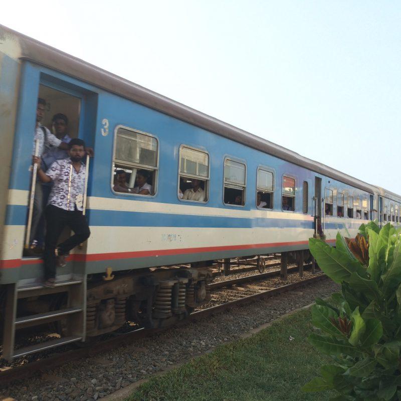 Train au Sri Lanka