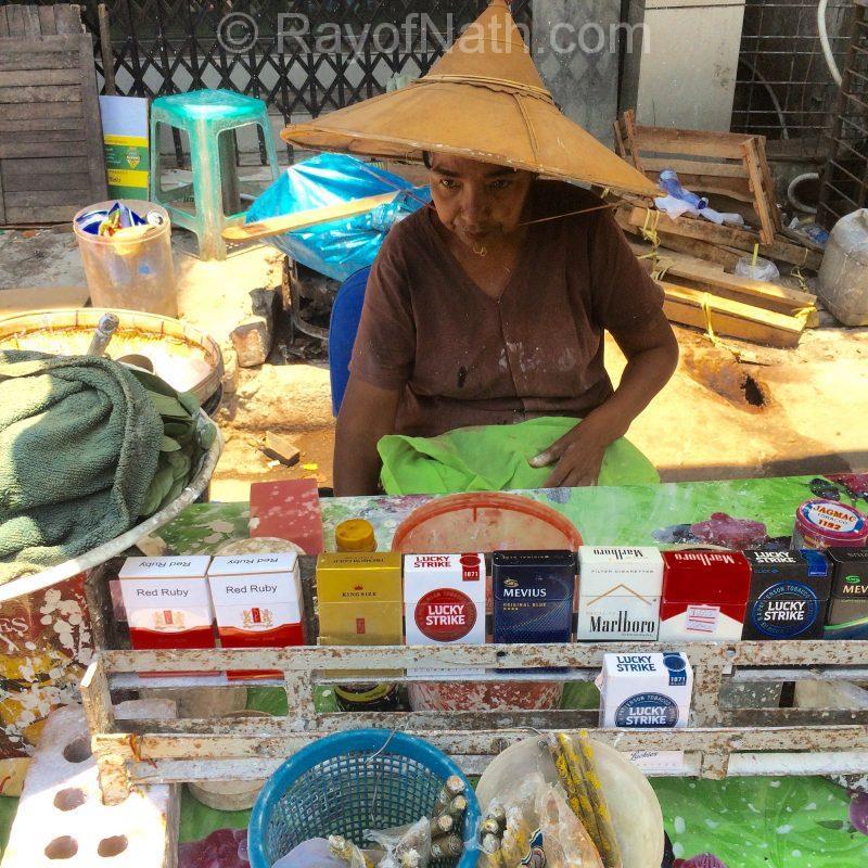 Kiosque où on achète le paan