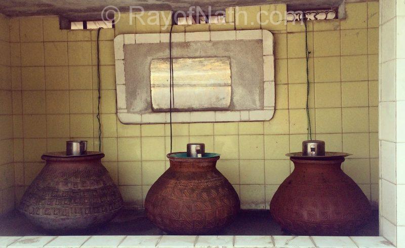 Typique station d'eau