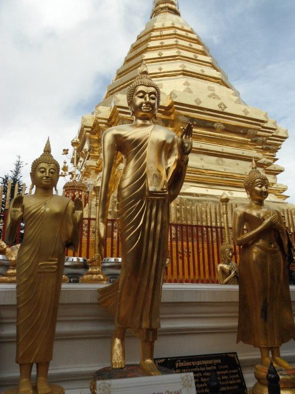 Temple de Doi Suthep à Chiang Mai, Thaïlande