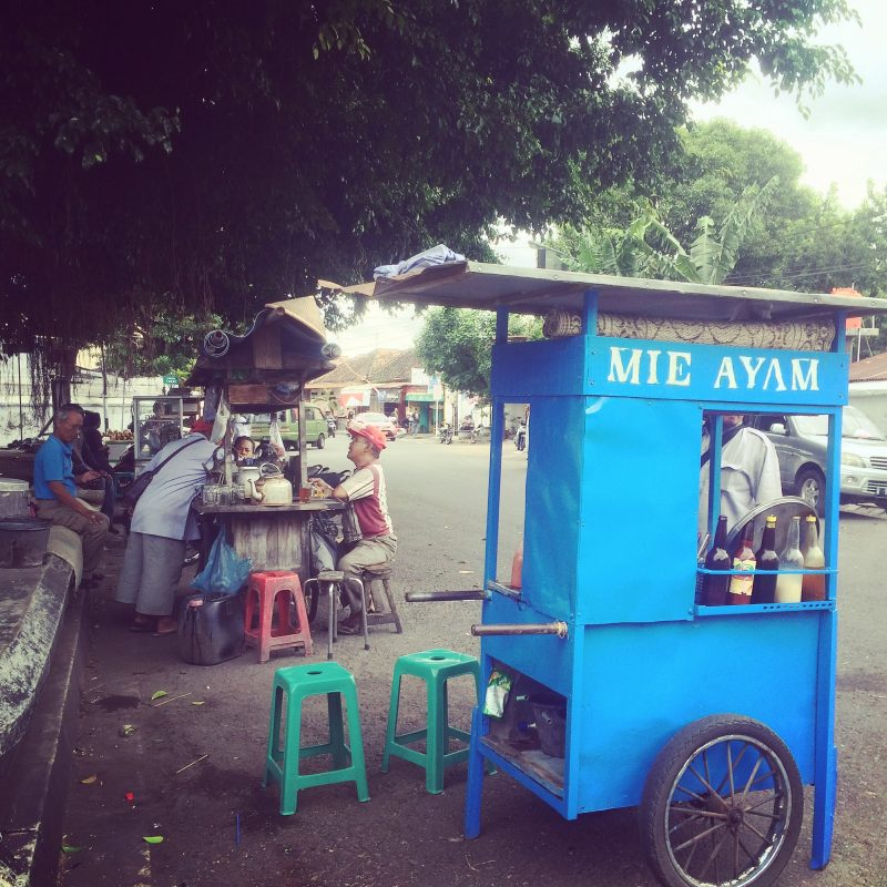 Bouffe de rue à Yogyakarta
