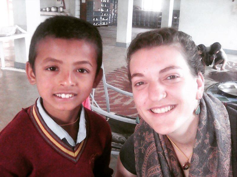 Gaia&Akass au Népal