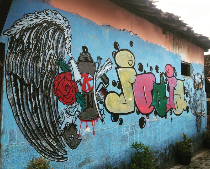Graffiti à Yogyakarta