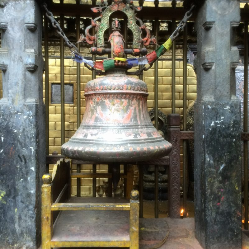Cloche d'un temple de Patan