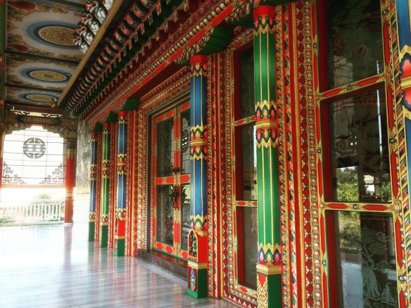 Monastère dans la ville de Lumbini