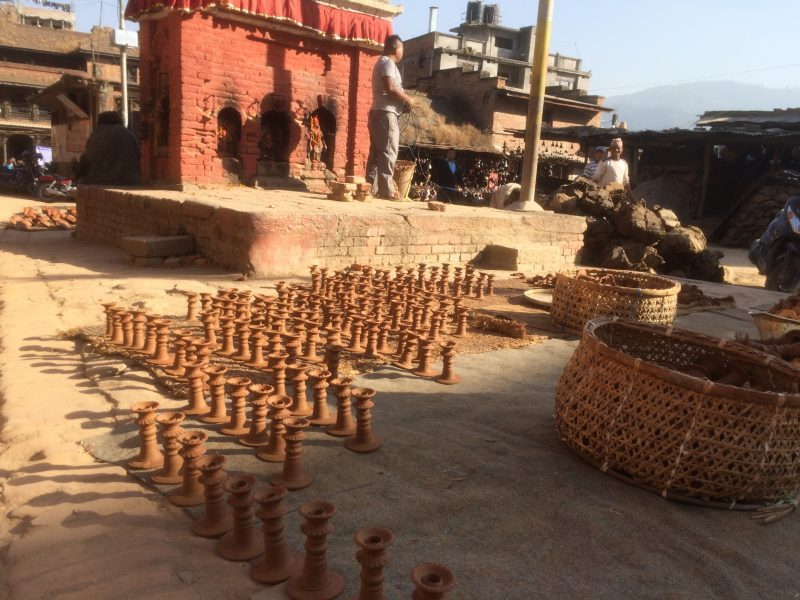 Place de la poterie, Bhaktapur