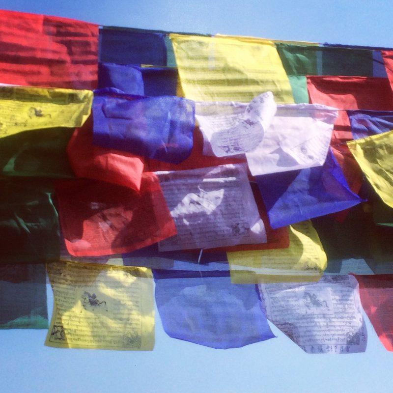 Drapeaux à prière, Budhanath