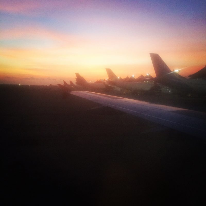 Un autre départ, une autre arrivée, Bali