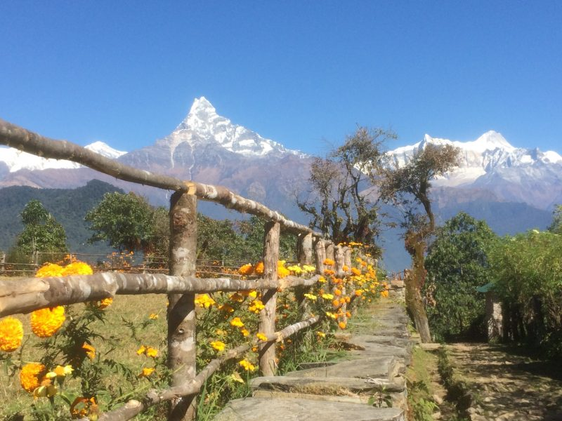 Machhapuchare - Fishtail -Annapurna, Népal