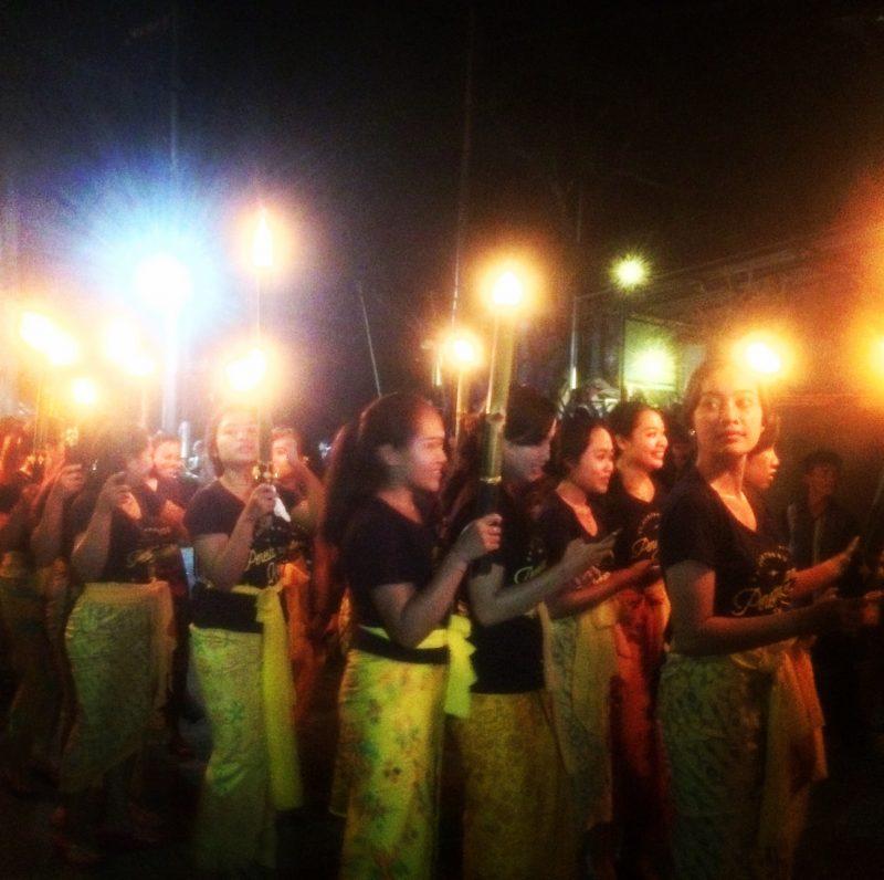 Parade de Ogoh-Ogoh, veille de Nyepi, Bali