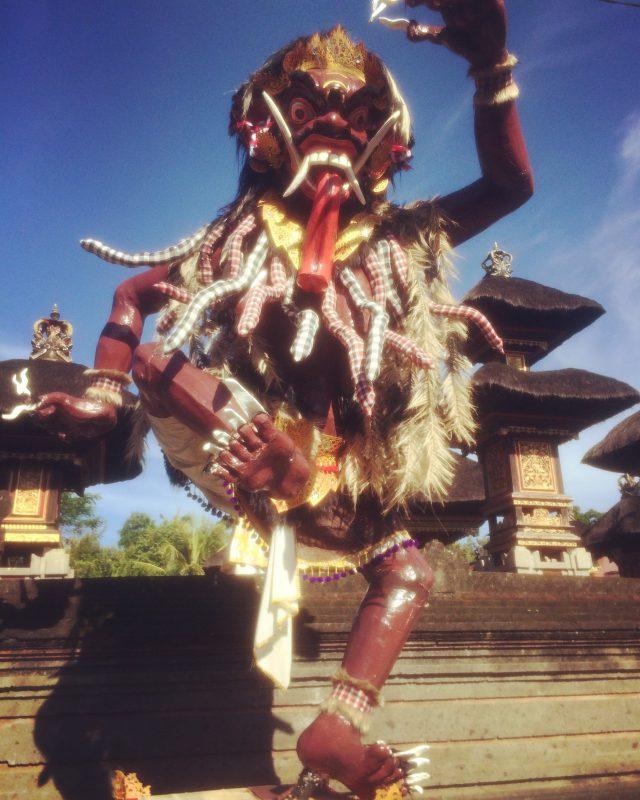 ogoh-ogoh dans un village de Ubud