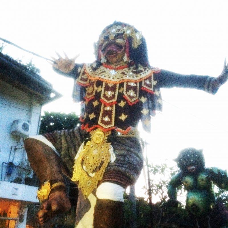 Ogoh-Ogoh veille de Nyepi, Penestanan, Bali