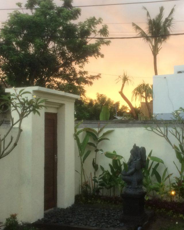 Premières lueurs du matin, Ubud
