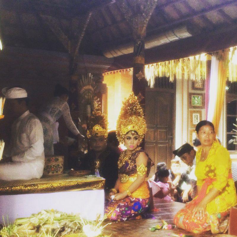 Balinese Wedding, Ubud, Bali