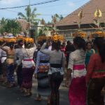 Procession, crémation, Ubud