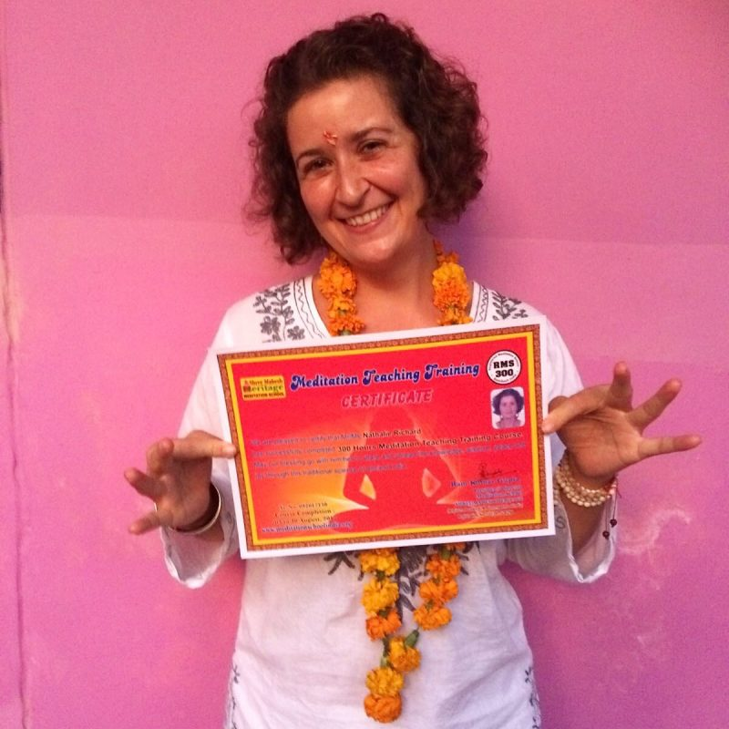 Certificat 300 heures formation de professeur de méditation