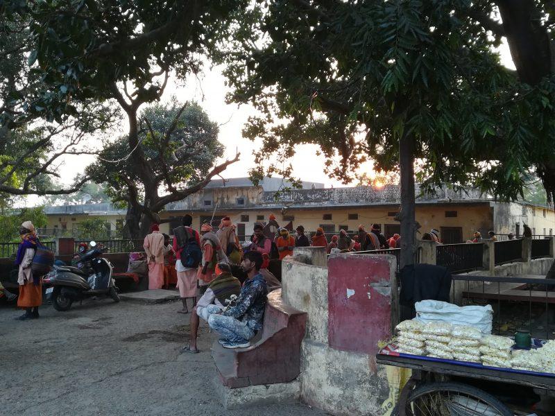 Près des ashrams de Ram Jhula, Rishikesh, Inde